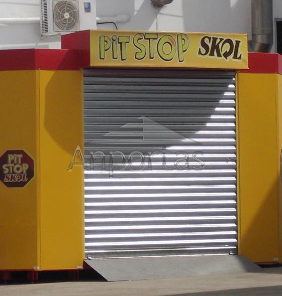 Portas de Aço Automáticas: Anportas